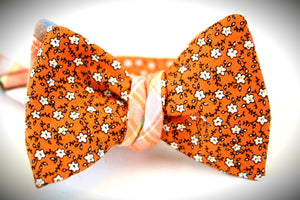 Ella Bing Signature Cloth Bow Ties The Louis Bernard - Gingham/Madras Reversible Bow Tie