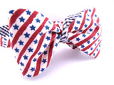 The Merica Cloth Bow Tie