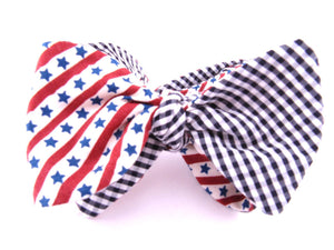 Ella Bing Signature Cloth Bow Ties The Merica Cloth Bow Tie