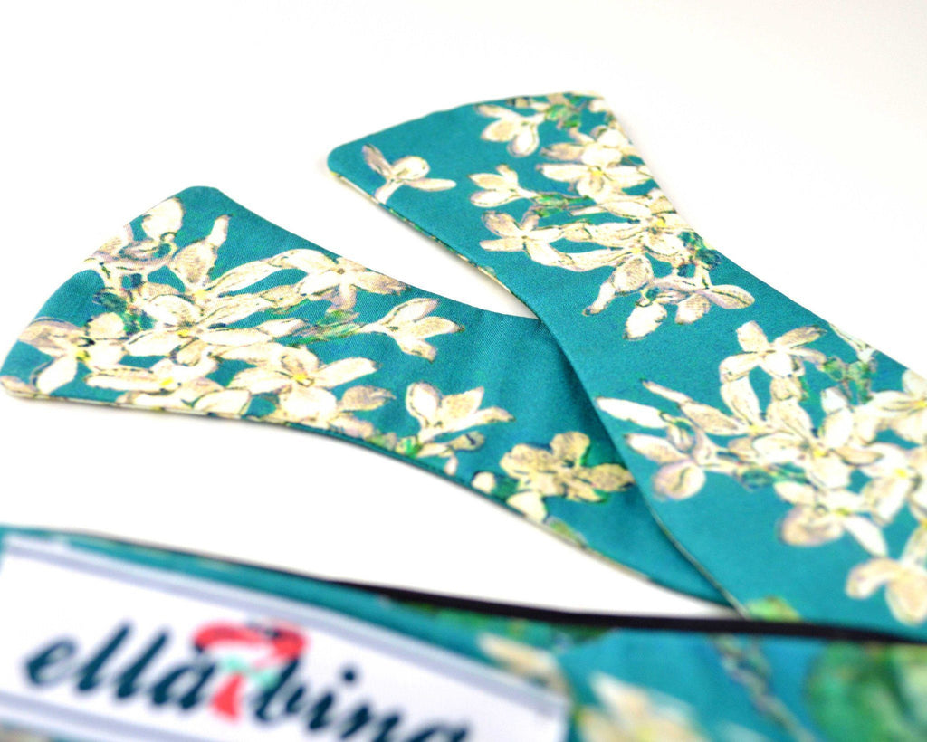 The Reed Sloane Floral Bow Tie