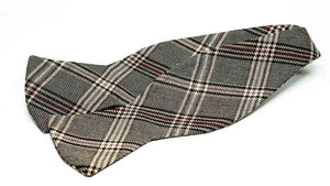Ella Bing Signature Cloth Bow Ties Windowpane Bow Tie No. 837