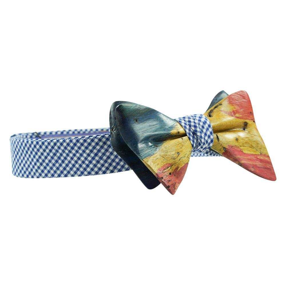 Stabilized Wooden Bow Tie No. 730