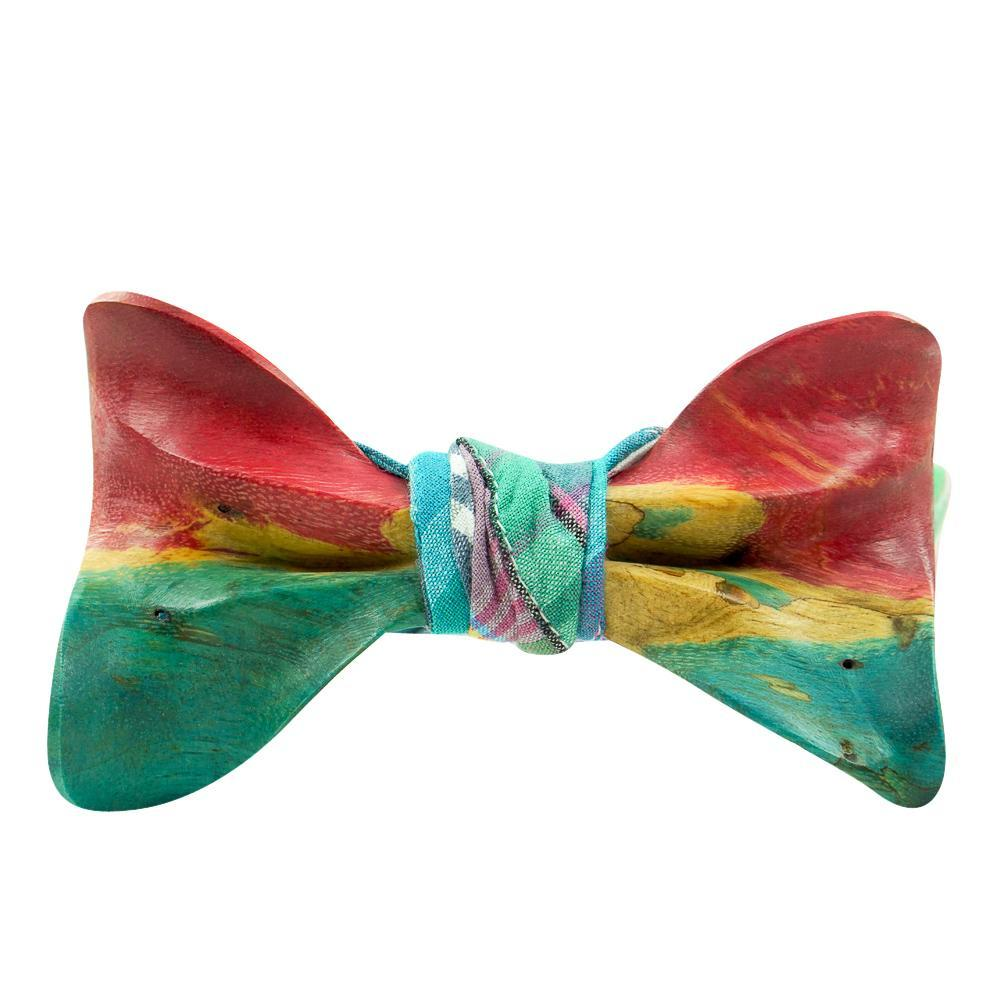 Stabilized Wooden Bow Tie No. 733