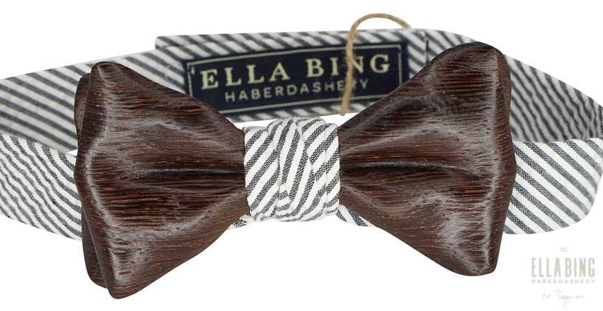 Wooden Bow Tie No. 635