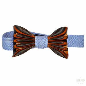ELLA BING Signature Wooden Bow Ties Wooden Bow Tie No. 650