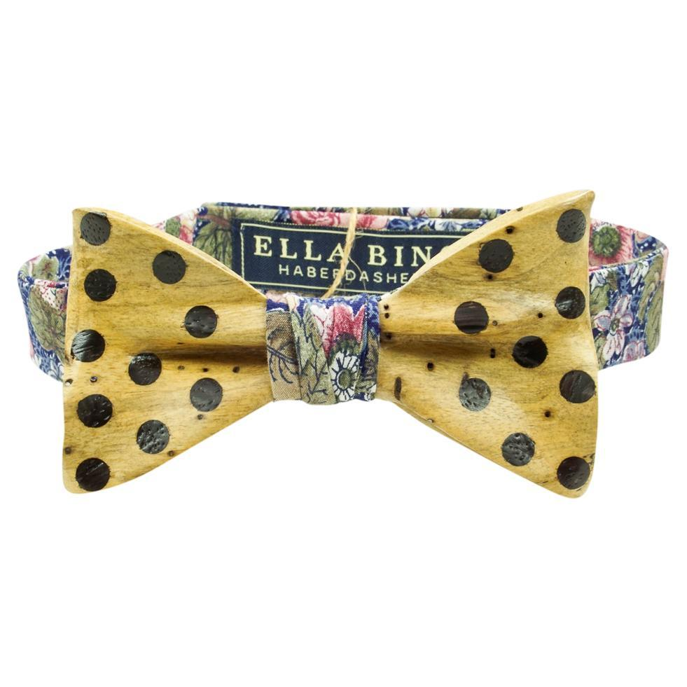 Wooden Bow Tie No. 685