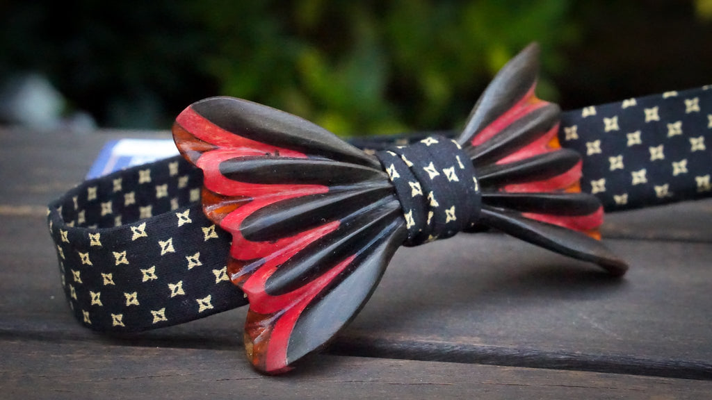 Wooden Bow Tie No. 754