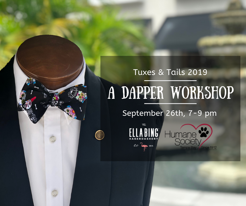Tuxes & Tails 2019 Official Bow Tie