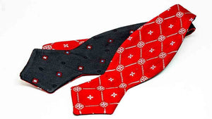 ELLA BING Vintage Bow Ties Vintage Silk Bow Tie No. 014