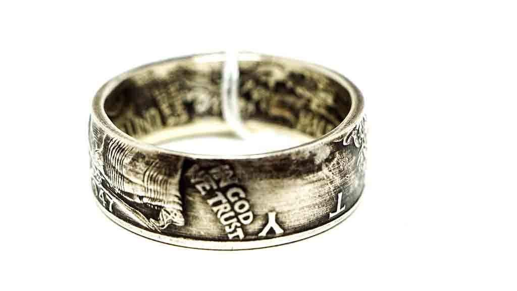 Vintage Coin Ring No. 1000