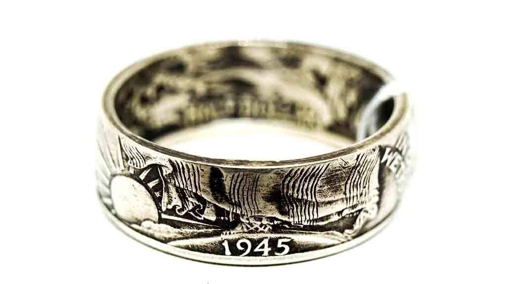 Vintage Coin Ring No. 1001