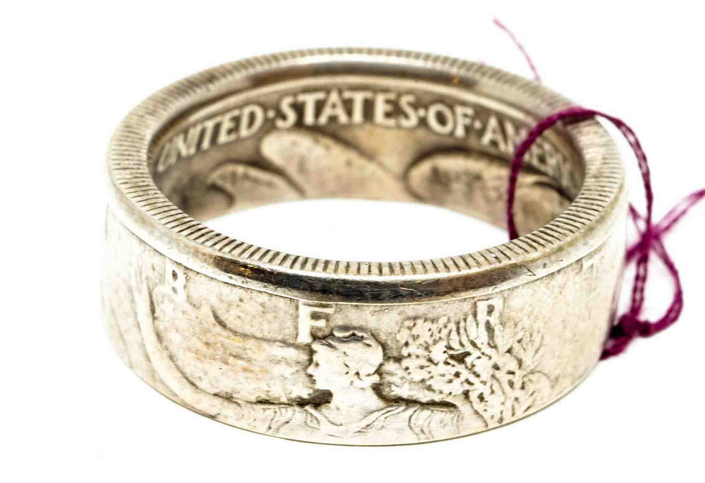 Vintage Coin Ring No. 1017