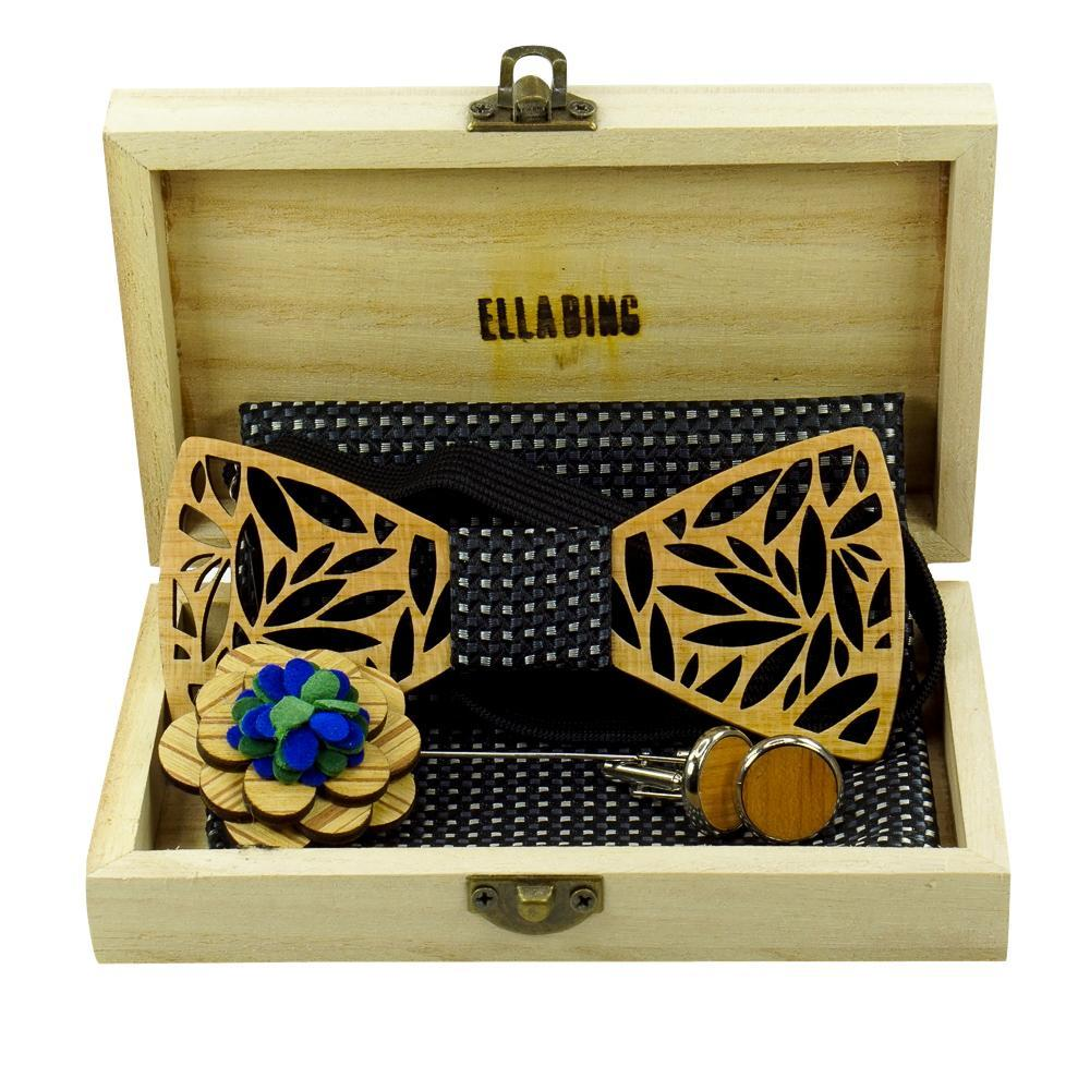 Wood Bow Tie Box Set #3