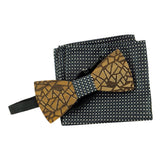 Wood Bow Tie Gift Set No. 86