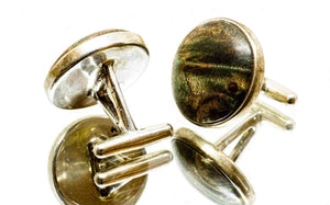ELLA BING Wood Cufflinks No. 901