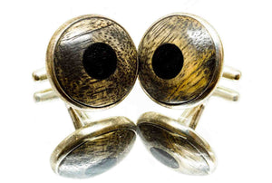 ELLA BING Wood Cufflinks No. 903