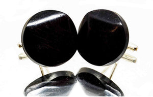 ELLA BING Wood Cufflinks No. 905