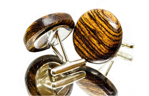 ELLA BING Wood Cufflinks No. 907