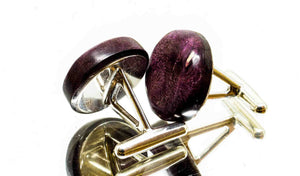 ELLA BING Wood Cufflinks No. 910