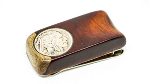 Ella Bing Wood Money Clip Wood Money Clip No. 302