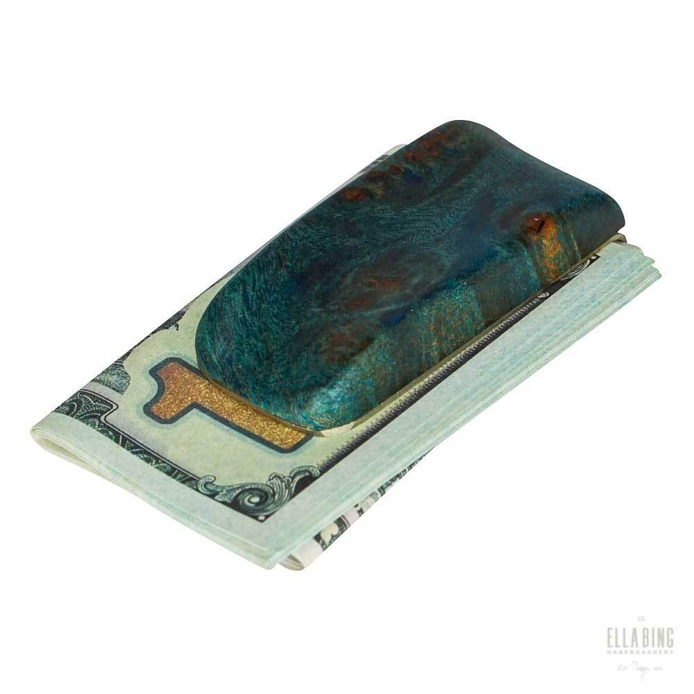 Wood Money Clip No. 405