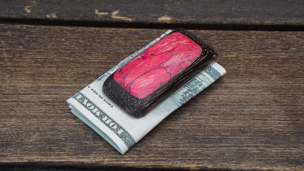 Wood Money Clip No. 410