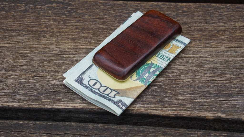 Wood Money Clip No. 414