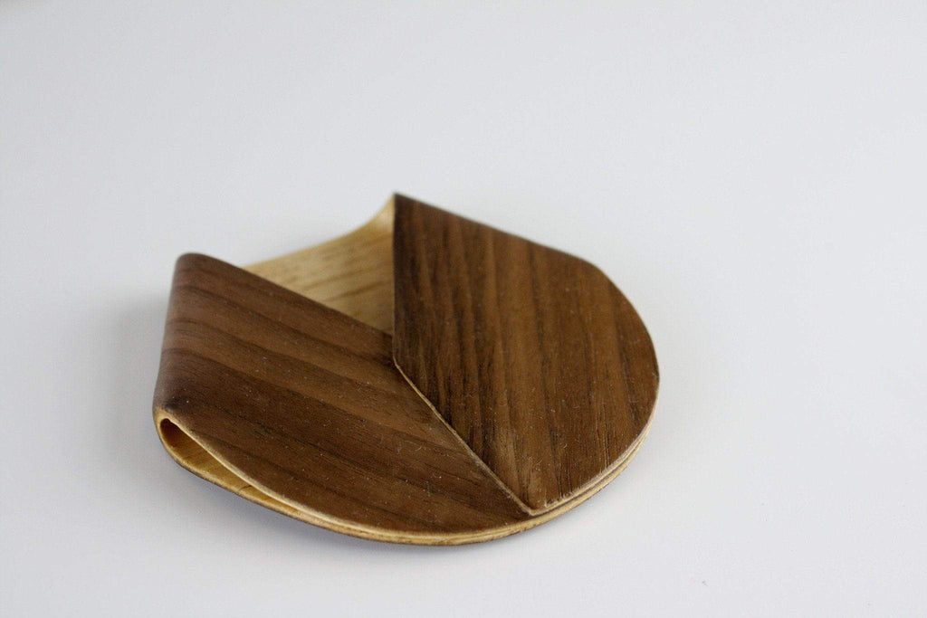 Wood Pocket Square - The Henry Ellison