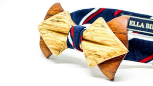 SIGNATURE WOODEN BOW TIES BY ELLA BING