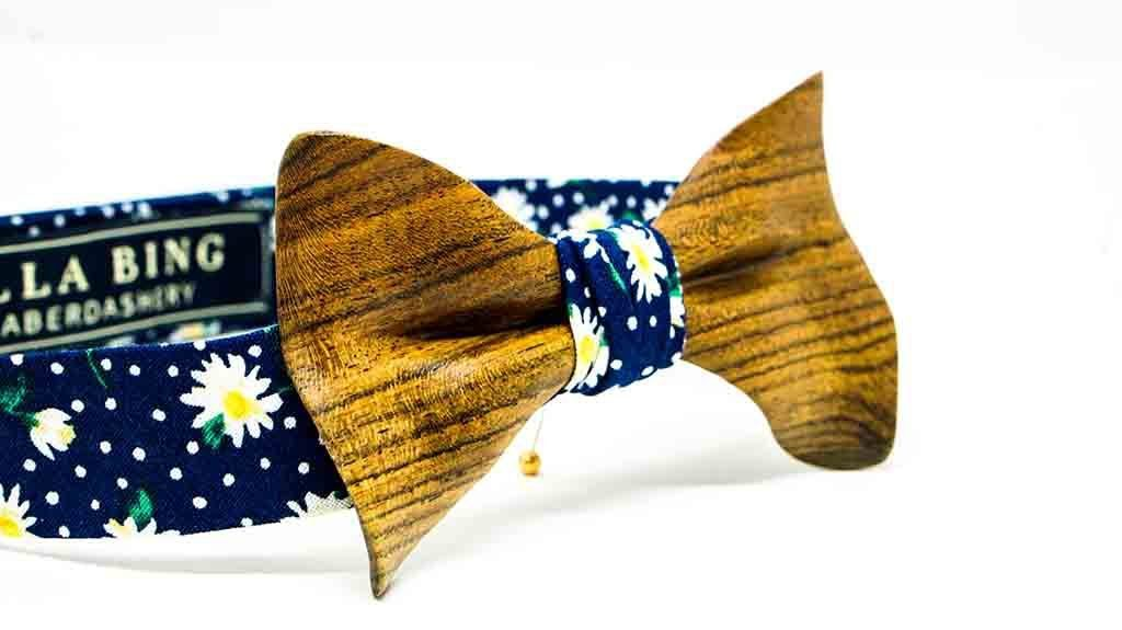 Wooden Bow Tie No. 530
