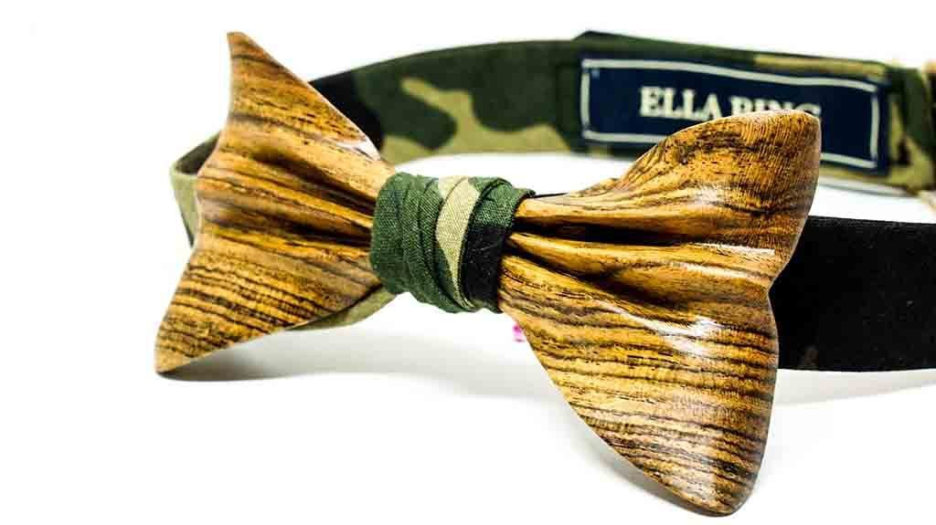 Wooden Bow Tie No. 541