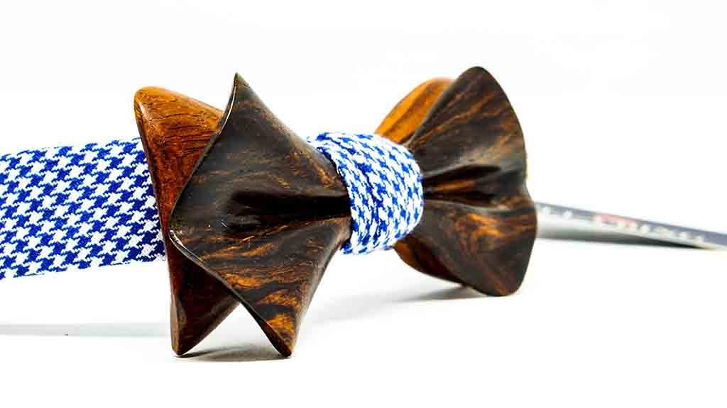 Wooden Bow Tie No. 568