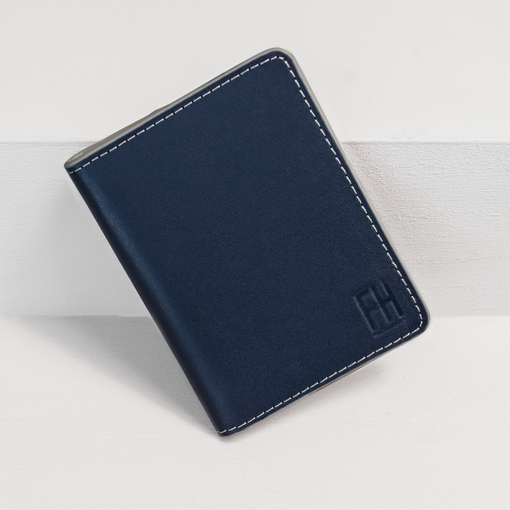 Forrest & Harold - Navy and Stone Bifold Wallet