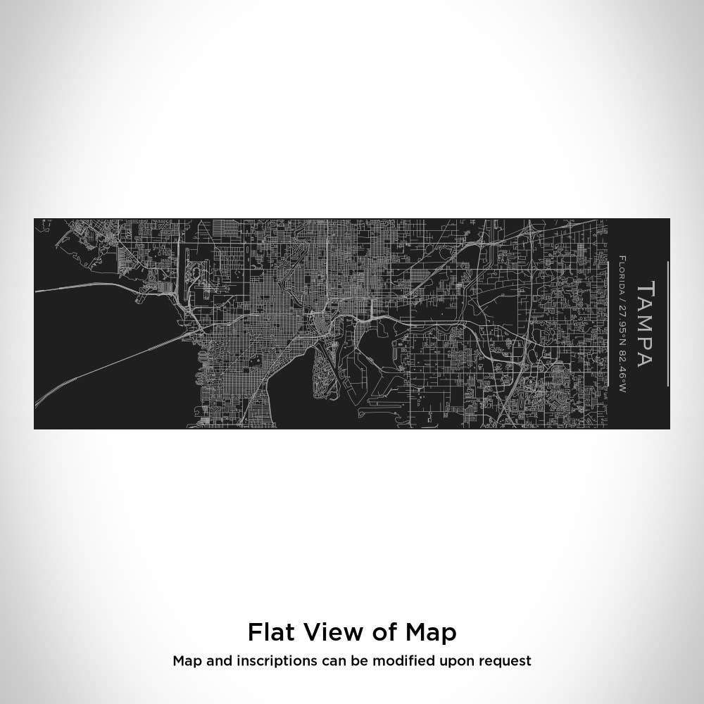 JACE.design - Tampa Map Insulated Cup in Matte Black