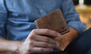 X Bifold Leather Wallet