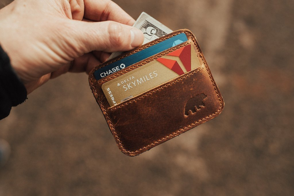Kodiak Leather - Kenai Minimalist Wallet