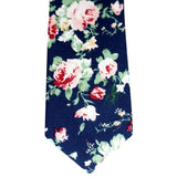 Floral Cotton Necktie No. 2108