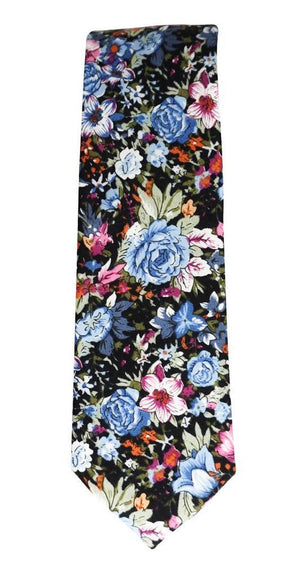 Miko/Ella Bing Cotton Necktie Floral Cotton Necktie No. 2118