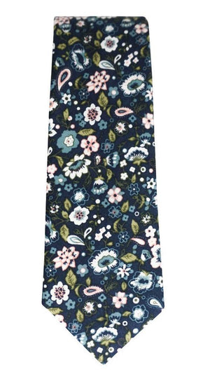 Miko/Ella Bing Cotton Necktie Floral Cotton Necktie No. 2120
