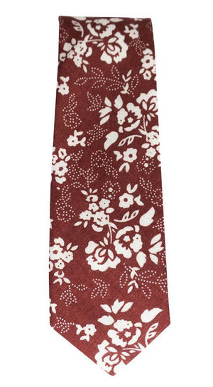 Miko/Ella Bing Cotton Necktie Floral Cotton Necktie No. 2121