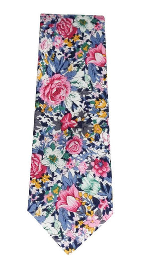 Miko/Ella Bing Cotton Necktie Floral Cotton Necktie No. 2127