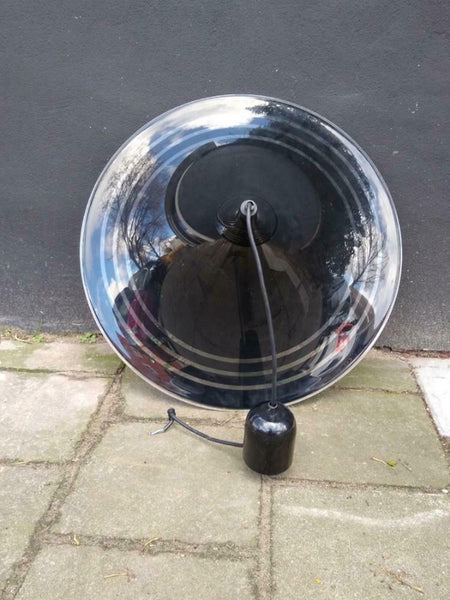 Vintage grote space age heksenhoed hanglamp - RELIVING