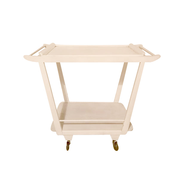 Witte trolley tafel - RELIVING