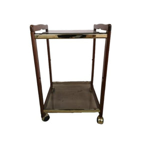 Barcart Messing Met Hout - RELIVING