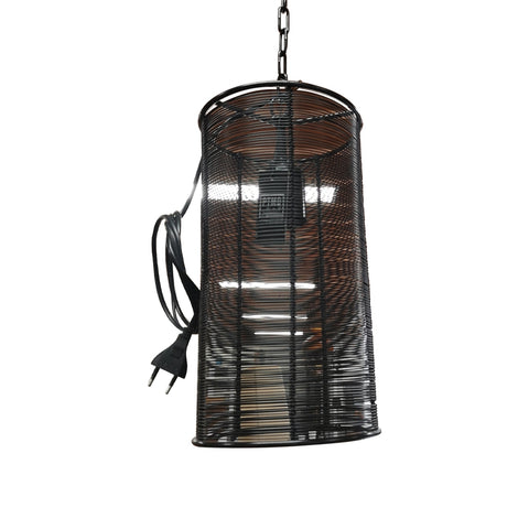 Zwarte metalen lamp - RELIVING