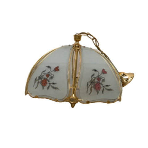 Hollywood Regency Hanglamp Goud