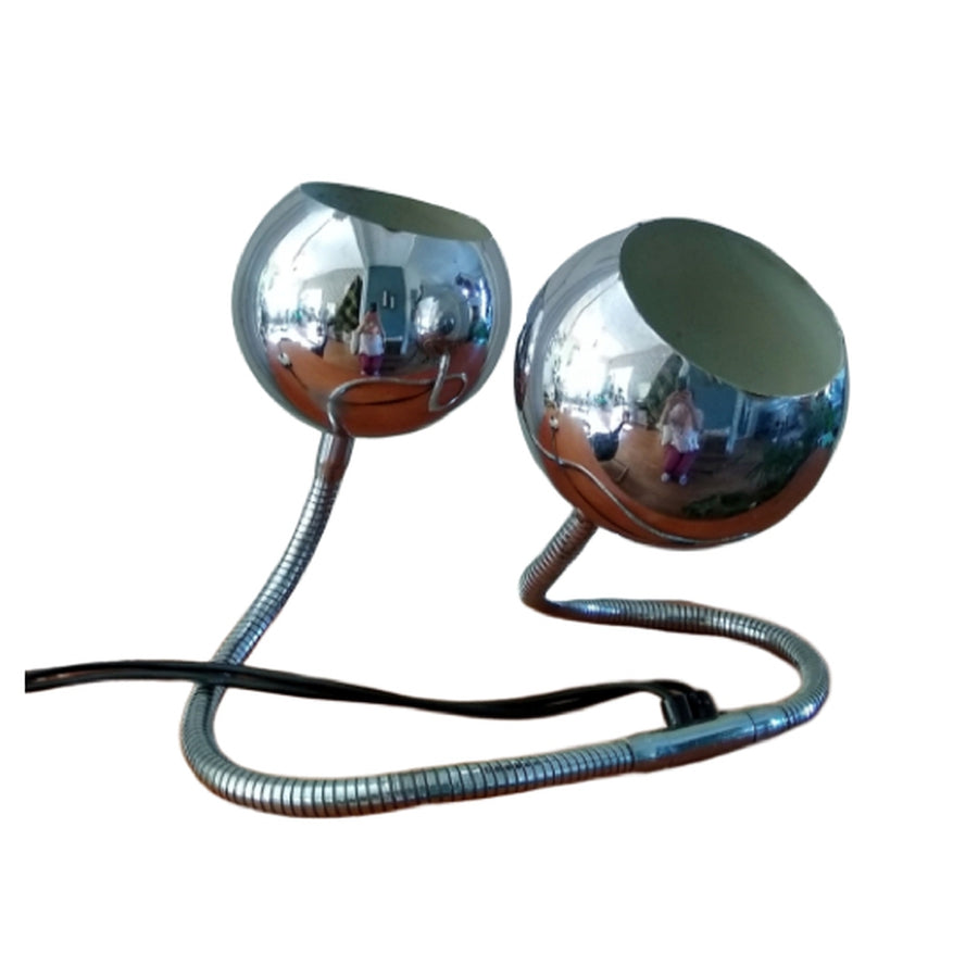 Vintage space age chrome Snake Lamp, by Goffredo Reggiani - RELIVING