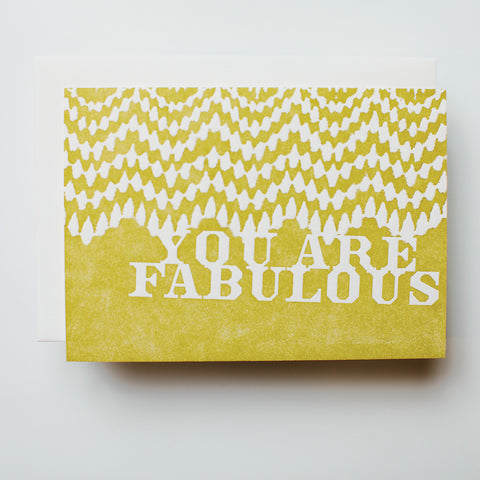 "Oh You, ""Fabulous"""