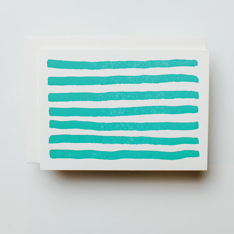 Stripes, Turquoise