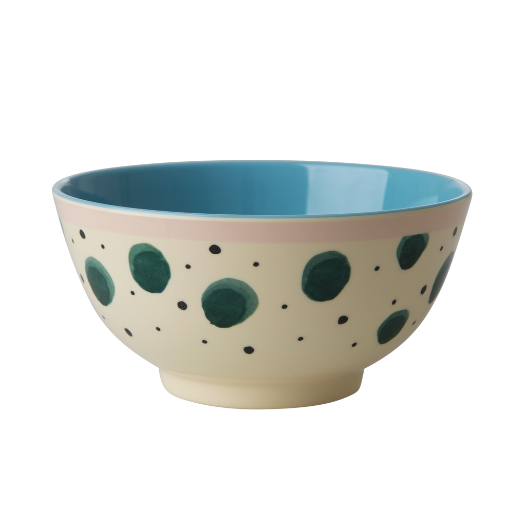 Melamine Bowl Watercolour Splash